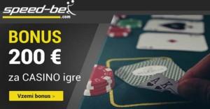 Speed-bet igre - bonus Slovenia